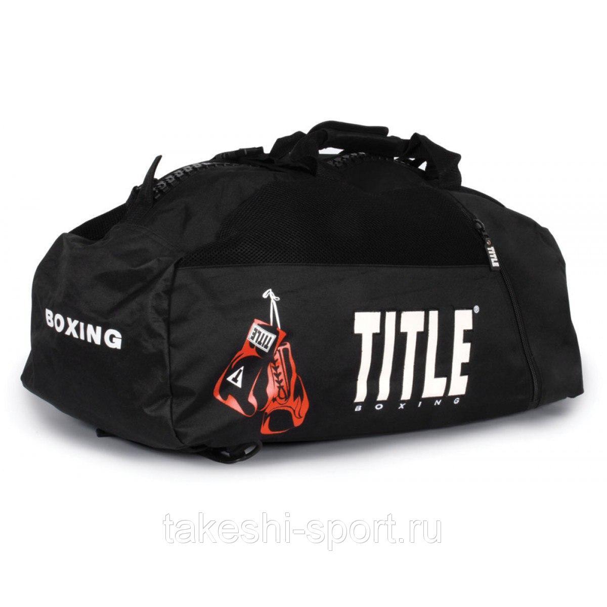 fe7a251ec9a0 Сумка-рюкзак спортивная Title Sport Bag - Backpack Black.  566056230_w640_h640_title