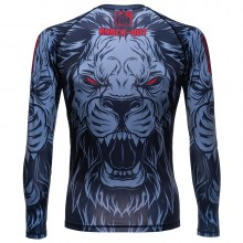 knockout kids rashguard lion 269