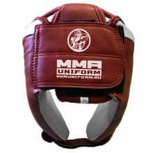 mma headguard red 2