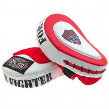 takeshi boxing mitts red