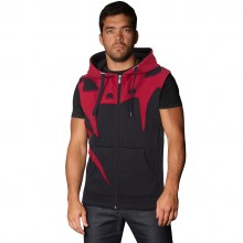venum-assault-sleeveless hoodie-red-devil