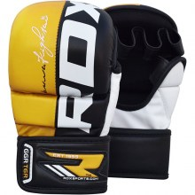 yellow_leather_mma_gloves